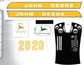 Decal John Deere 20 Series Early 1960's Pedal Tractor
