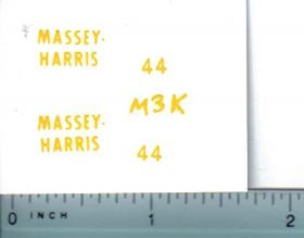 Decal 1/16 Massey Harris 44 Set (King)