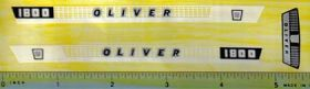Decal 1/16 Oliver 1800 Checkerboard