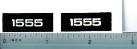 Decal 1/16 Oliver 1555 Model Numbers