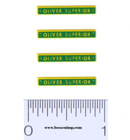 Decal 1/64 Oliver Superior (4)