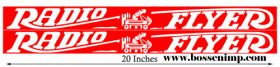 Decal Radio Flyer Wagon