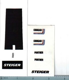 Decal 1/32 Steiger Cougar Panther Set