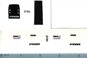 Decal 1/64 Steiger Cougar or Panther Set