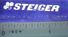 Decal Steiger Logo (white)