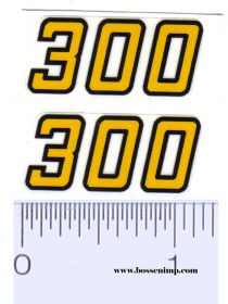 Decal 1/16 Versatile Small 300 Model Numbers