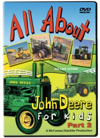 DVD John Deere All About John Deere for Kids  Part 2