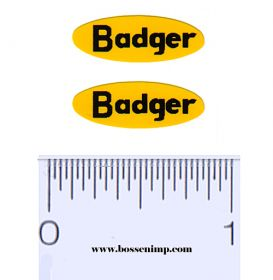 Decal Badger (2)