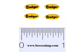 Decal Badger (4)