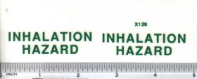 Decal Inhalation Hazard Large