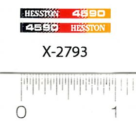Decal 64 Hesston Baler 4590 late