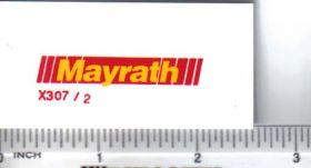 Decal 1/16 Mayrath - Yellow, Red