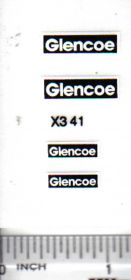 Decal 1/16 Glencoe Set