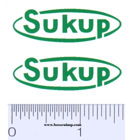 Decal Sukup (Pair)