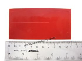 Decal Stripe red  4 inch