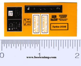 Decal 1/32 RoGator Labels