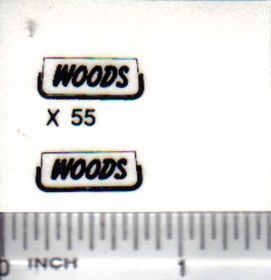 Decal 1/16 Woods