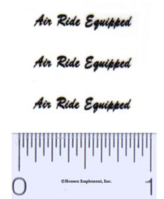 Decal Air Ride Equipped (3)