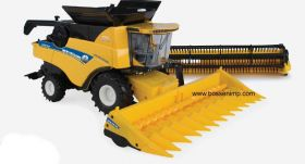 1/32 New Holland Combine CR8.90 with 2 heads
