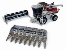 1/64 Case IH Combine 2388 25th Anniversary Chrome Plated
