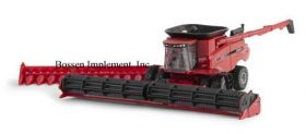 1/64 Case IH Combine 9240 with duals & 2 heads