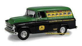 1/25 Chevy Panel Truck 1957 Bank John Deere #120