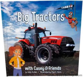 Book Casey & Friends Big red Tractors