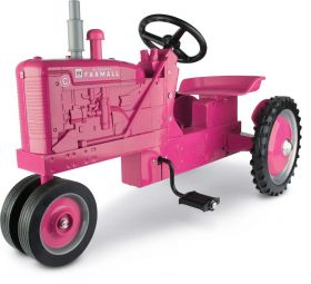 Farmall C NF Pedal Tractor Pink