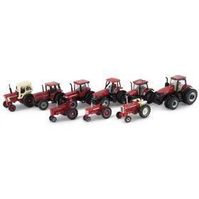 1/64 Case IH 9 piece Set Ertl 75th Anniversary