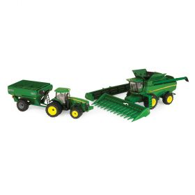 1/64 John Deere Harvesting Set