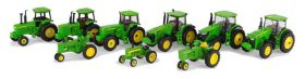 1/64 John Deere 9 Piece Set Ert 75th Anniversary