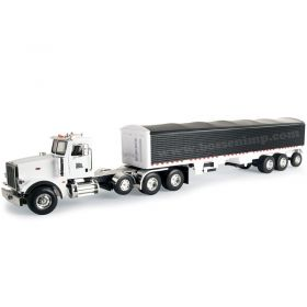 1/16 Big Farm Peterbilt 367 semi with Grain Trailer