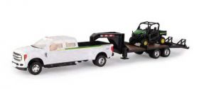 1/32 Ford F-350 Pickup with JD RSX 860i Gator & Trailer