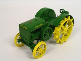 1/16 John Deere D unstlyed on steel 1998 Two Cylinder Expo Exhibitor Award