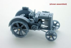 1/64 Case 22-40 Cross Mount Tractor revised kit