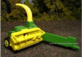 1/64 Hay Head for Ertl Pull Type Forage Harvester 3D printed