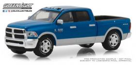 1/64 Dodge Ram 2500 Big Horn Harvest Blue Edition 2018