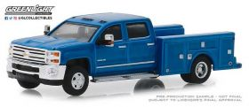 1/64 Chevrolet Pickup Silverado 3500 2018 Dually Service Bed