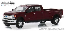 1/64 Ford Pickup F-350 King Ranch 2018 dually Ruby Red