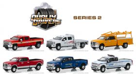 1/64 Dually Drivers Series 2 Set of 6