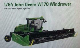 1/64 John Deere Windrower W170