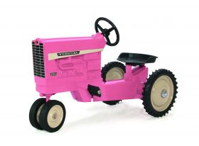 International 856 NF Pedal Tractor pink