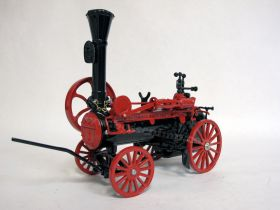 1/16 Case Steam Engine #1 Silver boiler plate