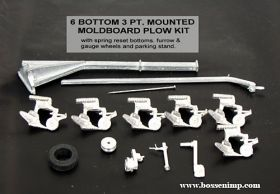 1/64 Plow 6 Bottom 3 Point Mounted Kit