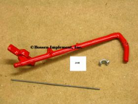 1/64 J & M  USA-15 Gravity Wagon Auger Kit, Red