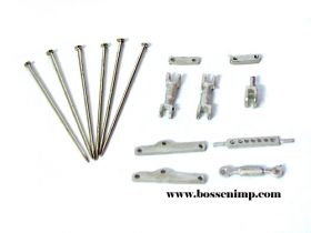 1/64 3 Point Hitch Kit Moveable small wo/Drill Bit