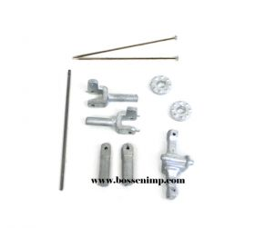 1/64 Front Axle FWA Kit JD 6, 7, 8000 Series