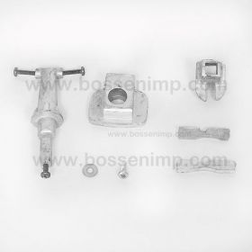 Part 1/16 AC D-21 or D-19 Narrow Front Axle Kit