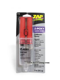 Zap-POXY 5 minute epoxy Glue - 1 ounce