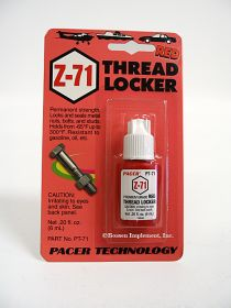 Pacer Red Thread Locker